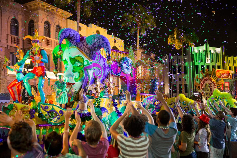 Mardi Gras na Universal Orlando em 2019: Mardi Gras Parade