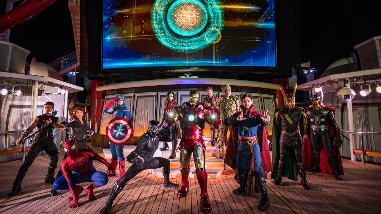 Cruzeiros temáticos da Disney Cruise Line em 2020: Marvel Day at Sea