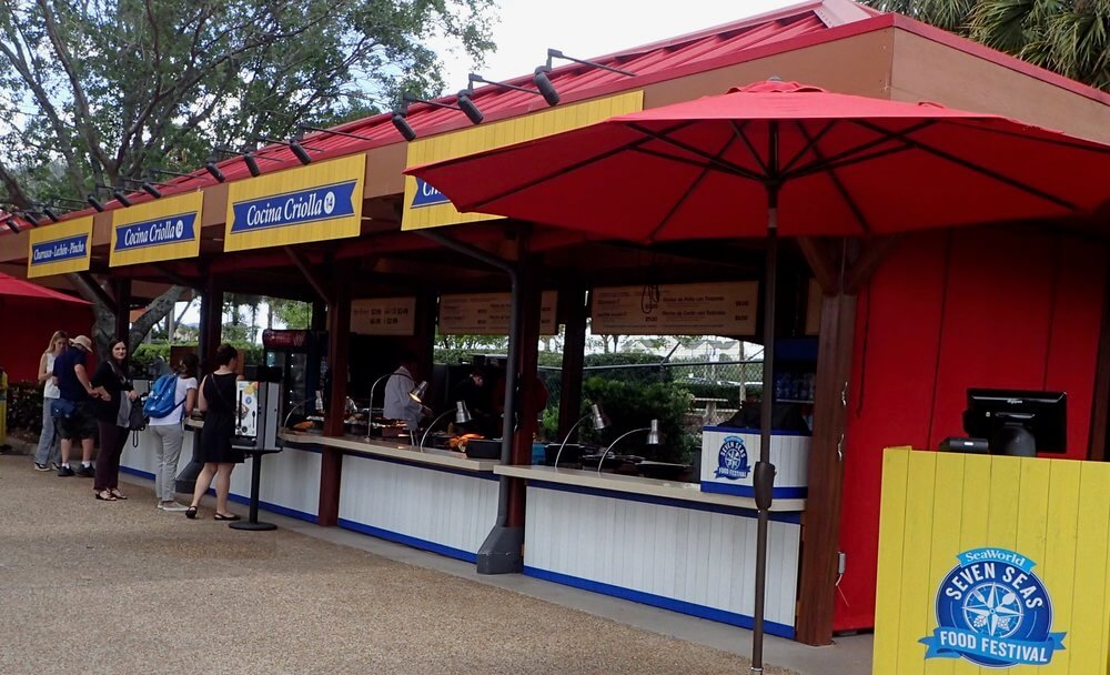 Festival Seven Seas Food no SeaWorld Orlando em 2019: mercados culinários
