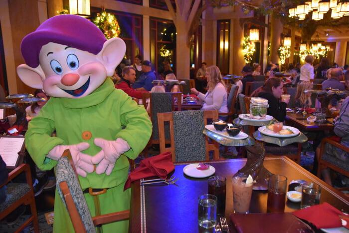 Storybook Dining: jantar com a Branca de Neve na Disney Orlando: personagem