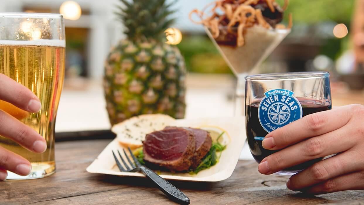 Festival Seven Seas Food no SeaWorld Orlando em 2019