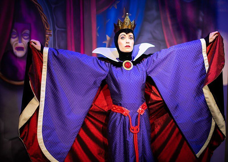 Storybook Dining: jantar com a Branca de Neve na Disney Orlando: Rainha Má