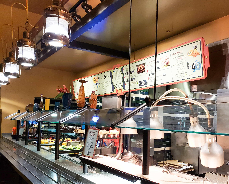 Plano de refeições All Day Dining Deal do SeaWorld e Busch Gardens: refeição