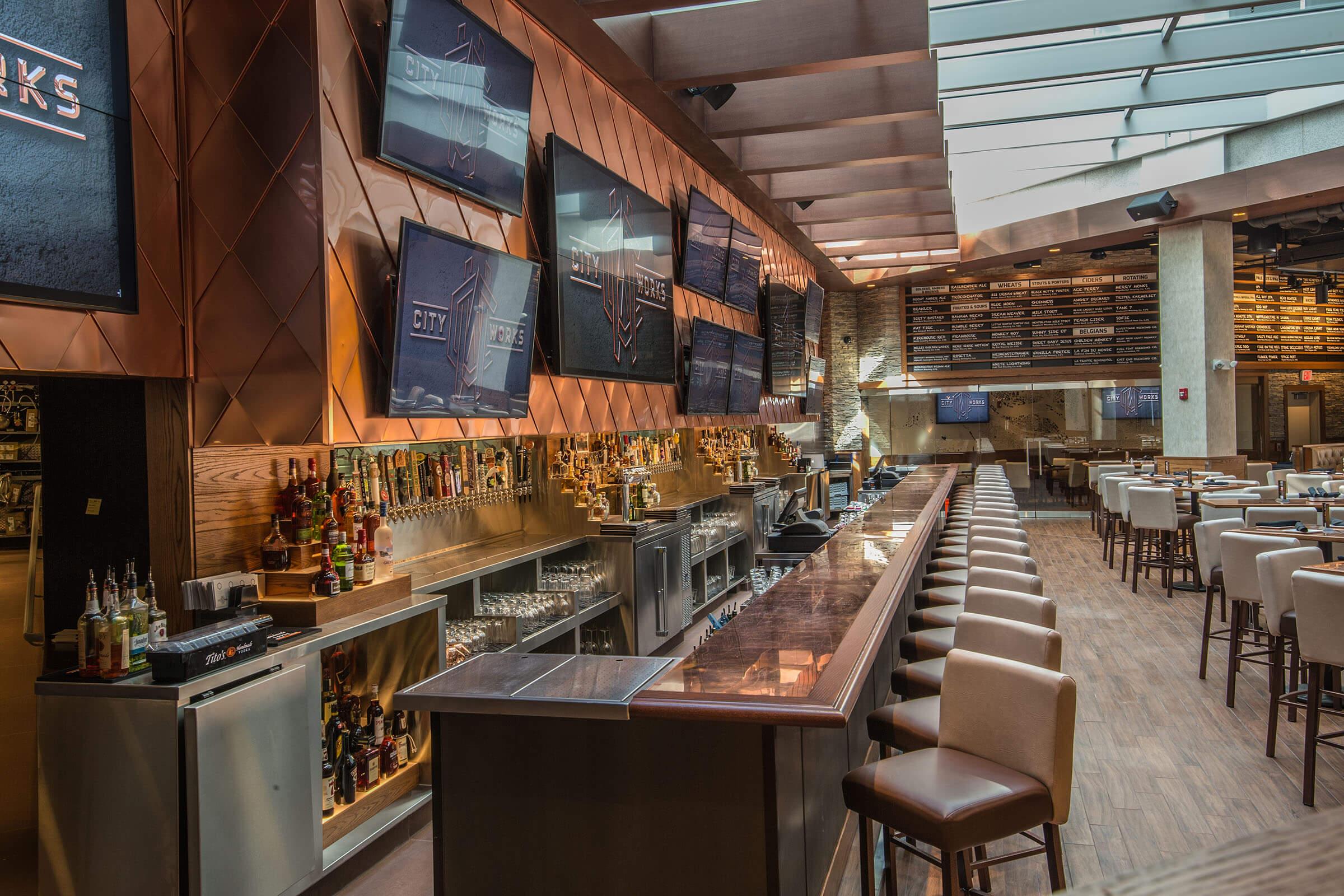 Restaurante City Works Eatery & Pour House em Disney Springs Orlando