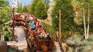 Early Morning Magic na Disney Orlando em 2019 e 2020: Seven Dwarfs Mine Train