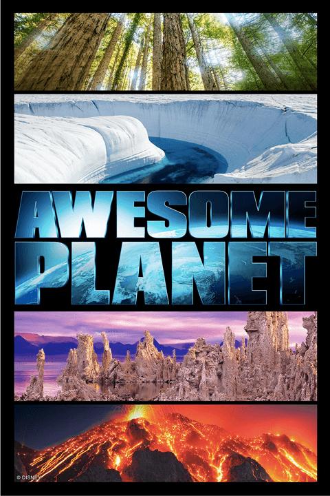 """Filme """"Awesome Planet"""" no Epcot da Disney Orlando"""