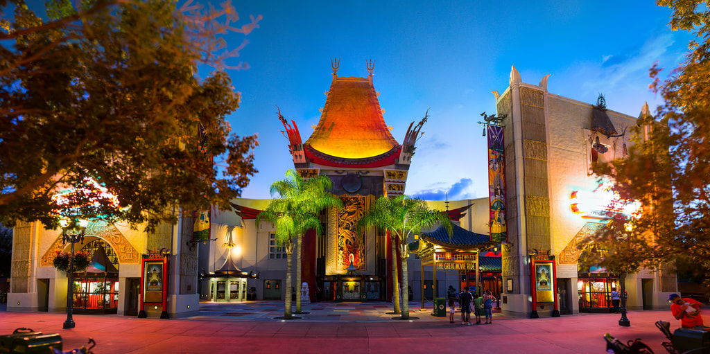 Wonderful World of Animation no Hollywood Studios da Disney Orlando: Chinese Theater