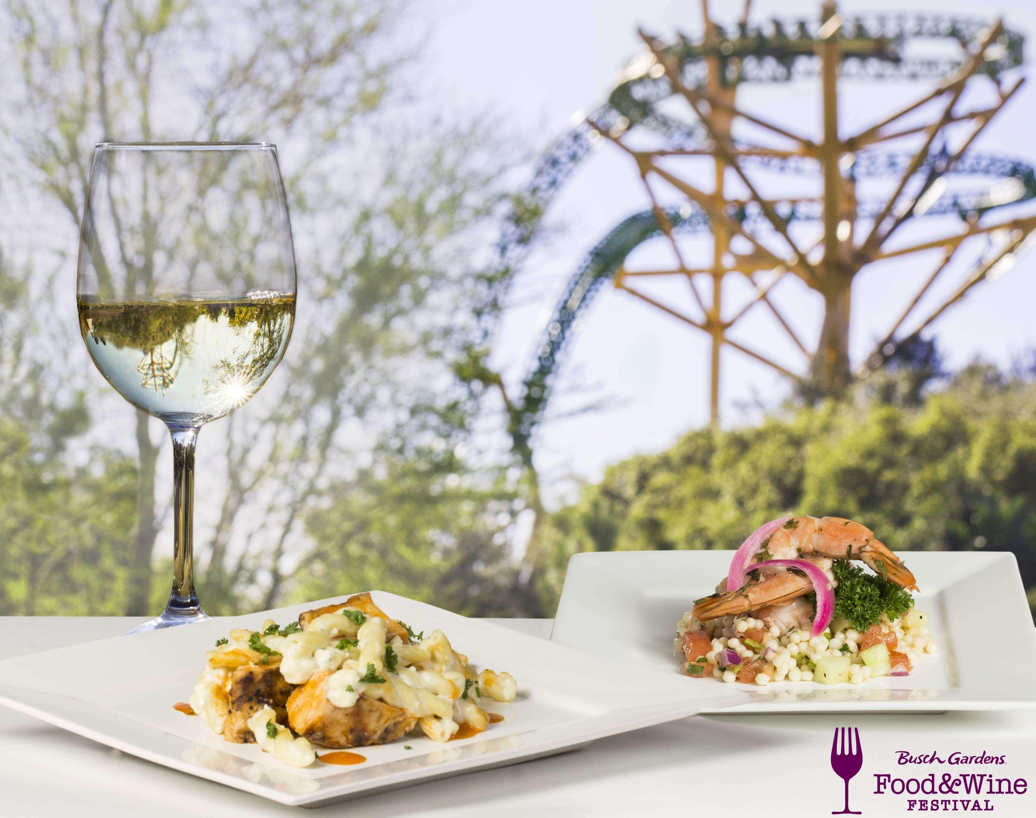 Food & Wine Festival no Busch Gardens Tampa: degustação