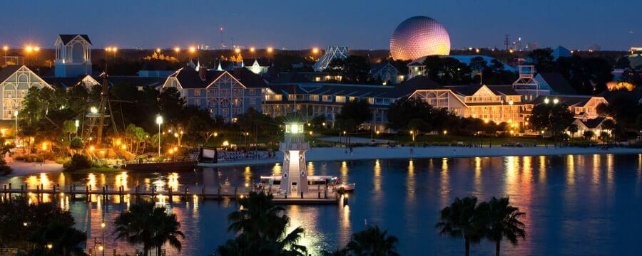 Atração com Capitão Gancho para crianças na Disney Orlando: Disney's Beach Club Resort