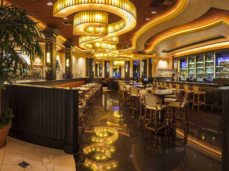 Restaurante The Cheesecake Factory em Orlando: interior