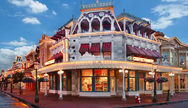 Main Street Confectionery no Magic Kingdom da Disney Orlando