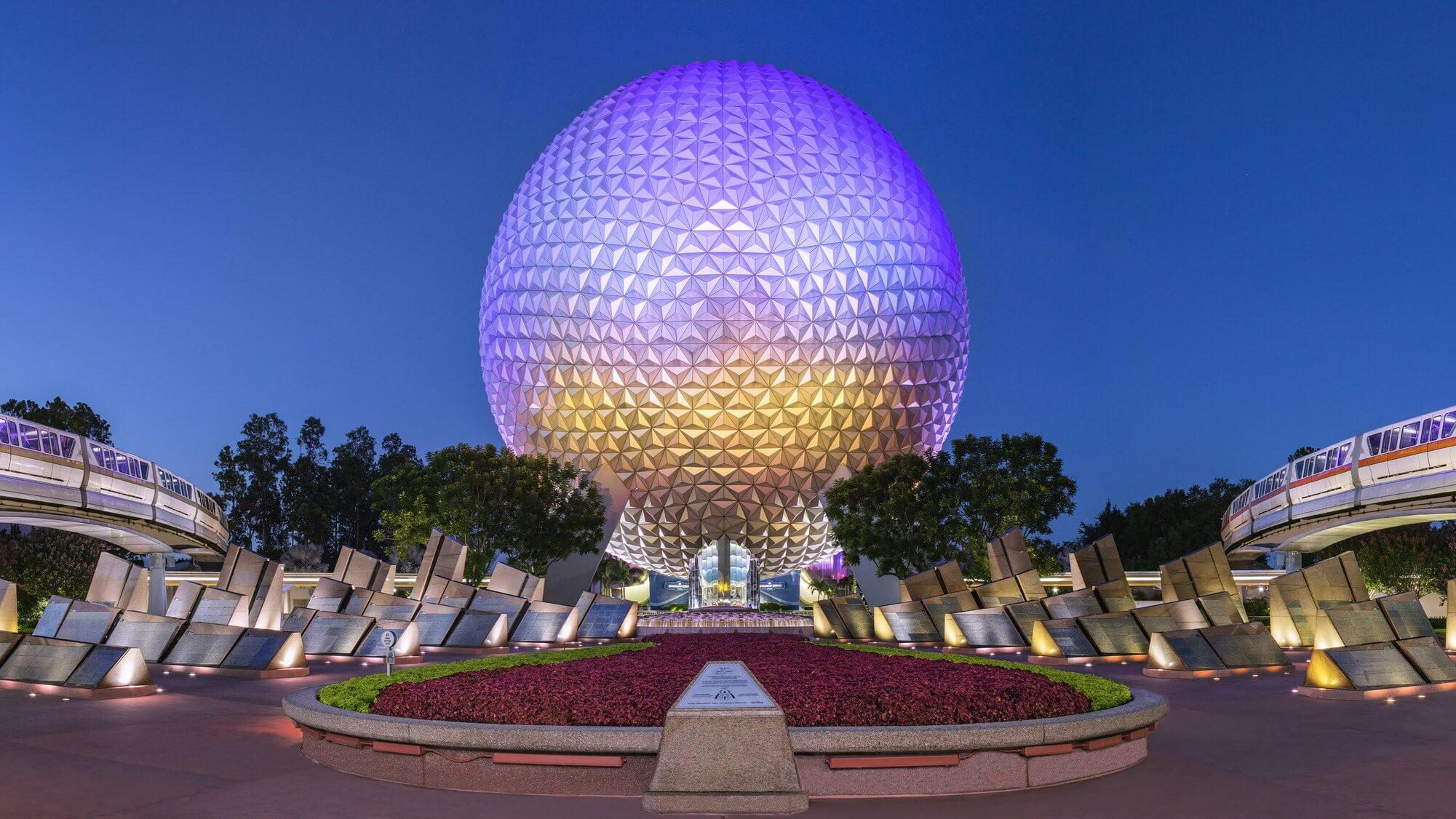 """Filme """"Awesome Planet"""" no Epcot da Disney Orlando: Spaceship Earth"""