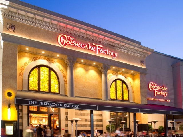 Restaurante The Cheesecake Factory em Orlando