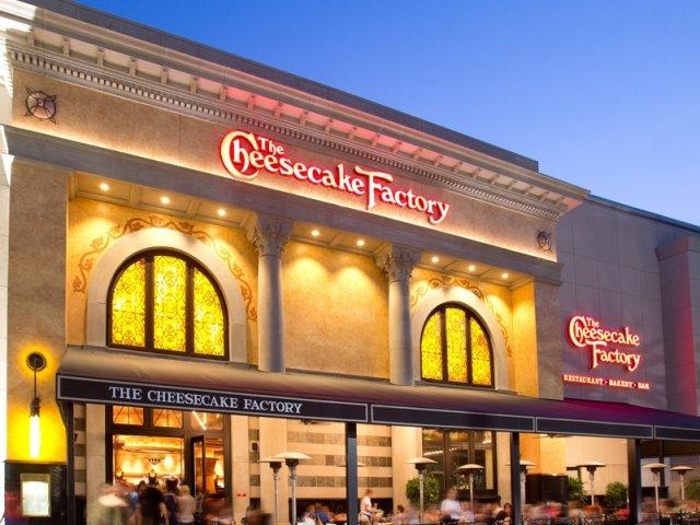 Restaurante The Cheesecake Factory em Orlando