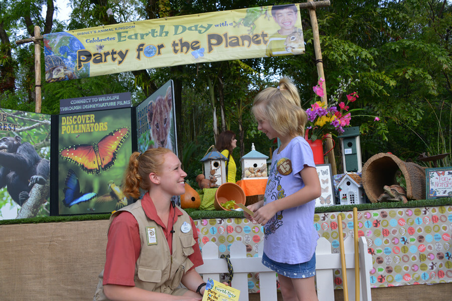 Party for the Planet no Animal Kingdom da Disney Orlando em 2019: atração