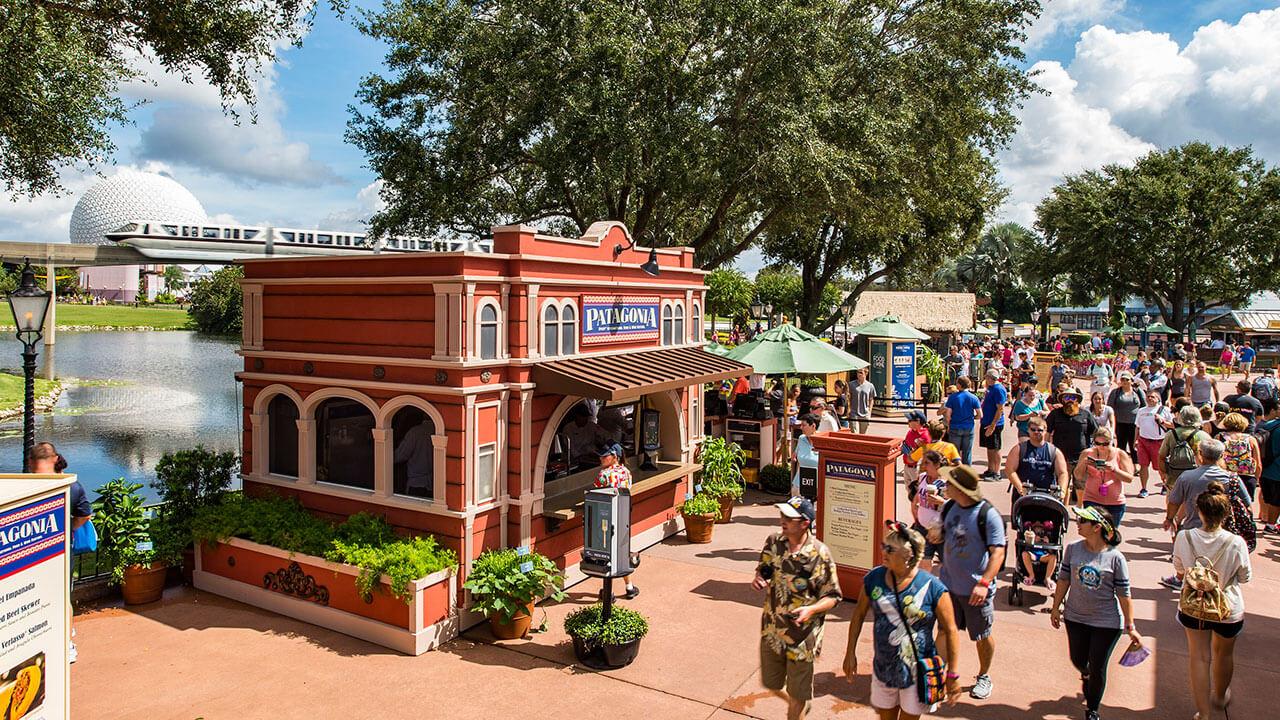 International Food & Wine Festival no Epcot da Disney Orlando em 2019: barracas de comida