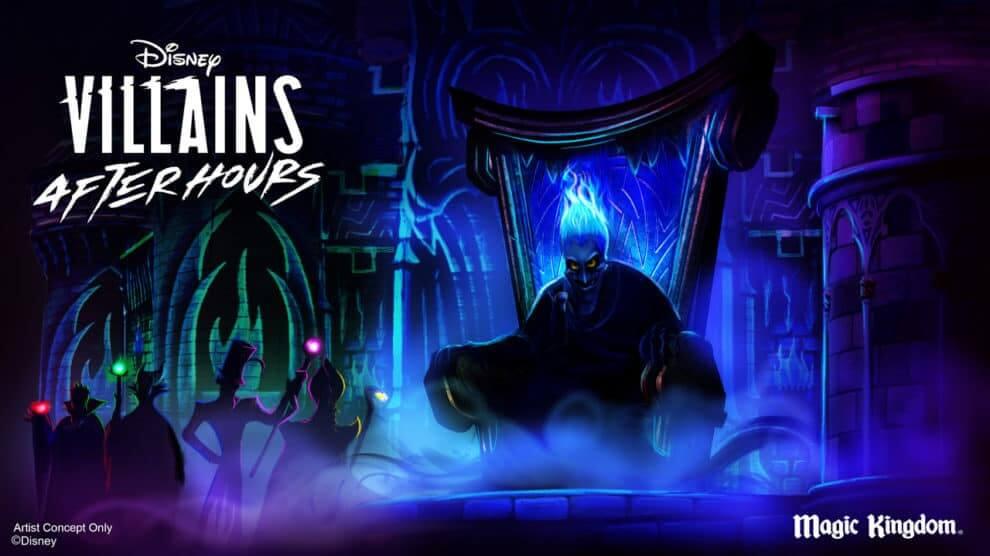 Disney Villains After Hours no Magic Kingdom da Disney Orlando