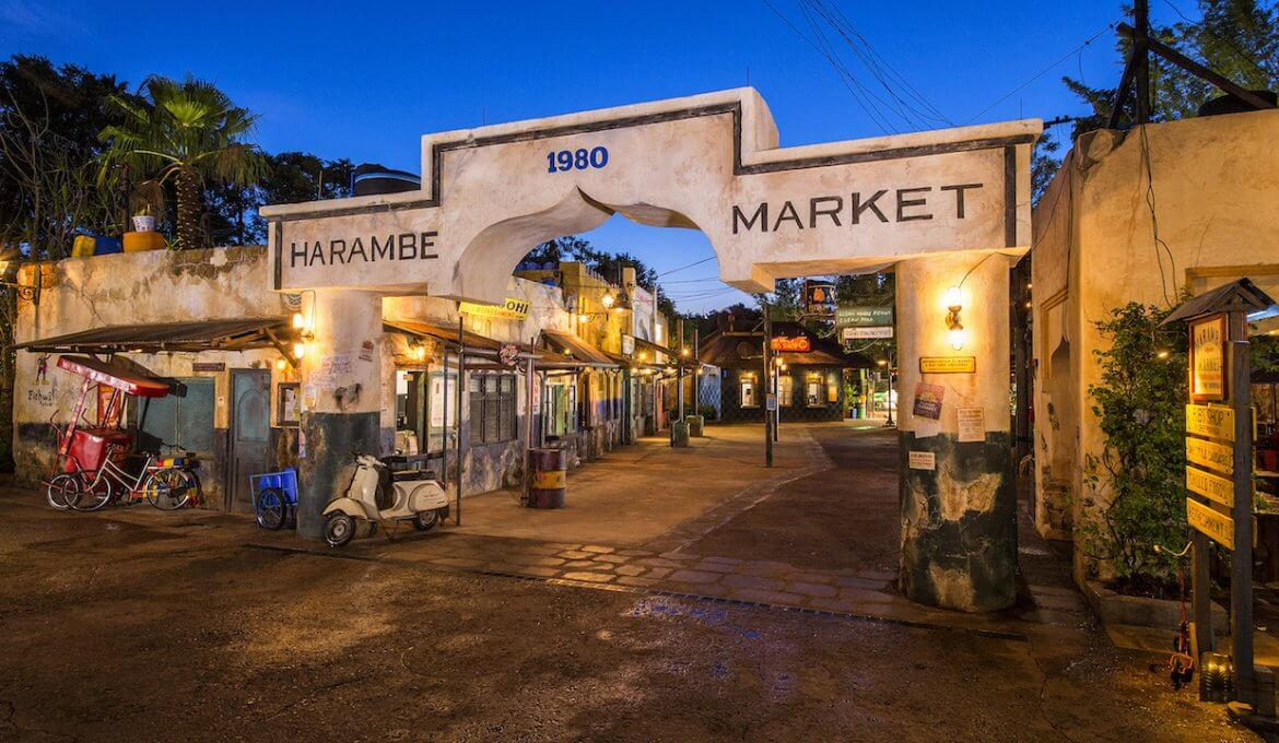 Circle of Flavours: Harambe at Night no Animal Kingdom da Disney Orlando: Harambe Market