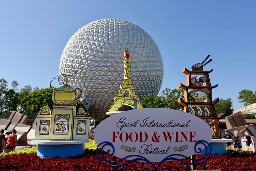 International Food & Wine Festival no Epcot da Disney Orlando em 2019