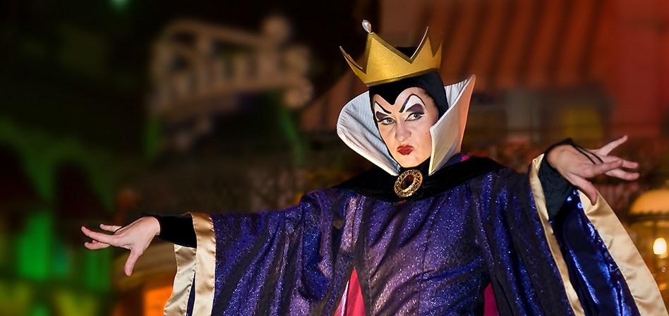 Disney Villains After Hours no Magic Kingdom da Disney Orlando: Rainha Má