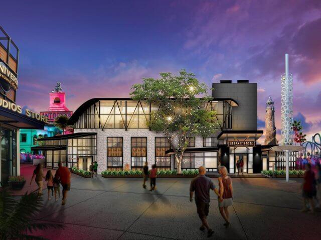 Restaurante Bigfire na Universal CityWalk em Orlando