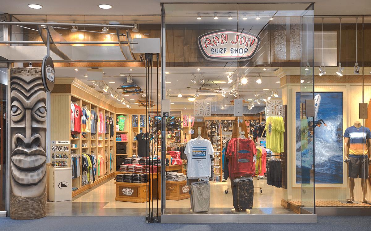 Loja Ron Jon Surf Shop em Orlando: unidades