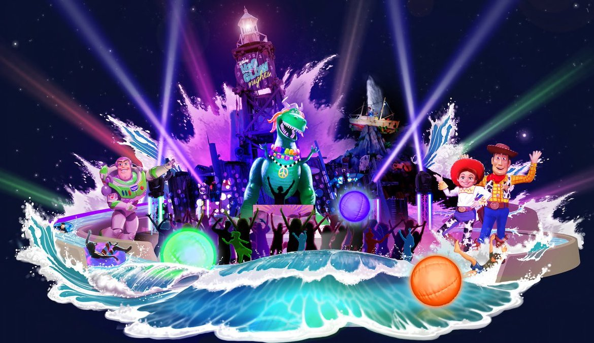 H2O Glow Nights no Typhoon Lagoon em Orlando