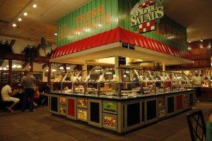Restaurante Golden Corral em Orlando: local