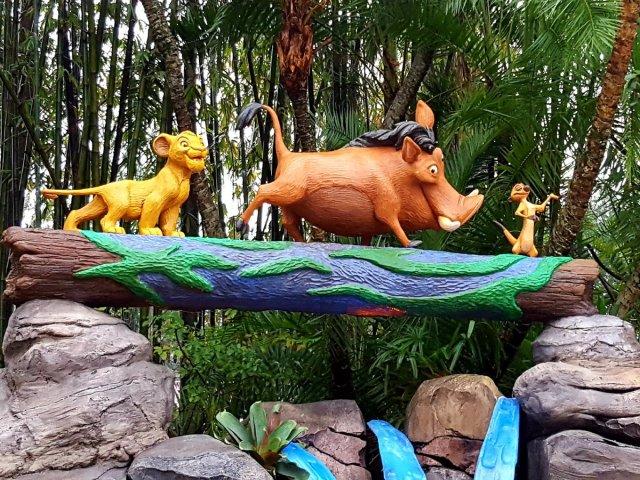 O Rei Leão no Animal Kingdom da Disney Orlando