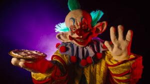 Atração de Palhaços Assassinos no Halloween da Universal Orlando em 2019: palhaço