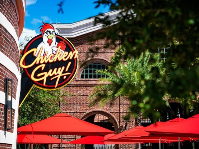 Restaurante Chicken Guy na Disney Springs em Orlando