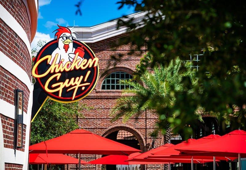 Restaurante Chicken Guy na Disney Springs em Orlando
