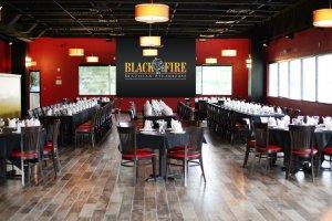 Restaurante Black Fire em Orlando: interior