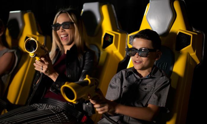 Resultado de imagem para Simulador 7D Dark Adventure Ride