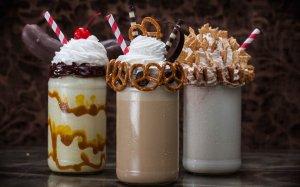 Toothsome Chocolate Emporium & Savory Feast Kitchen na Universal Orlando: milk-shakes