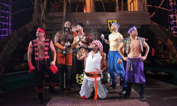 Jantar e show Pirates Dinner Adventure em Orlando: piratas