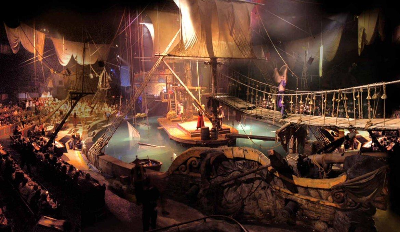 Jantar e show Pirates Dinner Adventure em Orlando