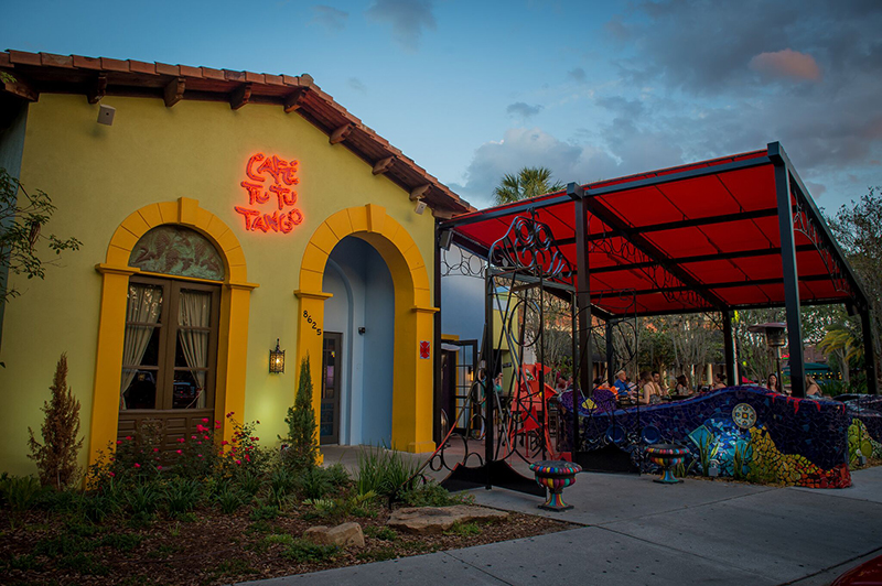 Restaurantes mexicanos em Orlando: Café Tu Tu Tango