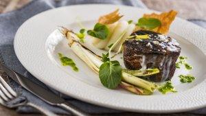 Restaurante Topolino's Terrace – Flavors of Riviera na Disney Orlando: comida