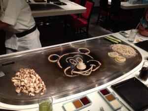 Restaurantes japoneses em Orlando: restaurante Teppan Edo