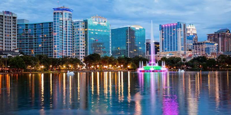 Como enviar dinheiro para Orlando: Lake Eola Park