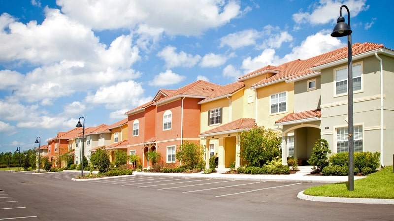 Casas no condomínio Paradise Palms em Orlando